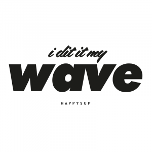 HappySUP.de - Motiv - I did it my wave